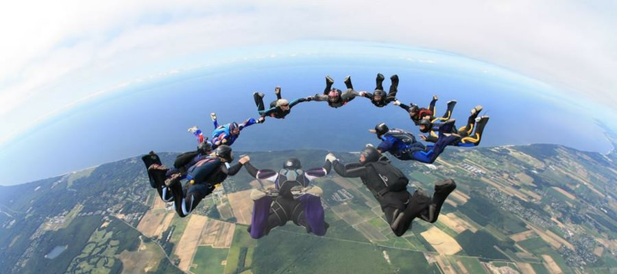 Bucket List Skydiving Top 5