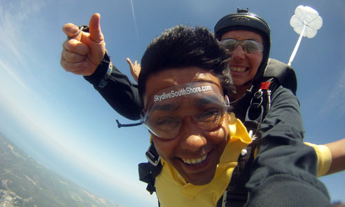 The Rewards of Skydiving