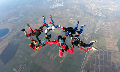 Skydiving Fun Facts
