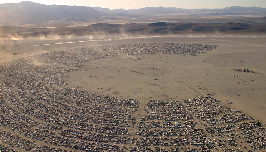 Burning Man Skydive