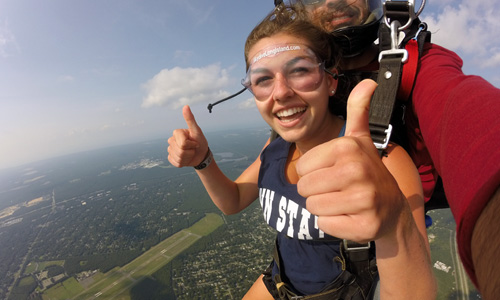 Skydiving Anxiety and How You Can Prepare