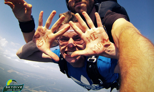 Skydiving Birthdays - and Other Events to Celebrate with a Skydive