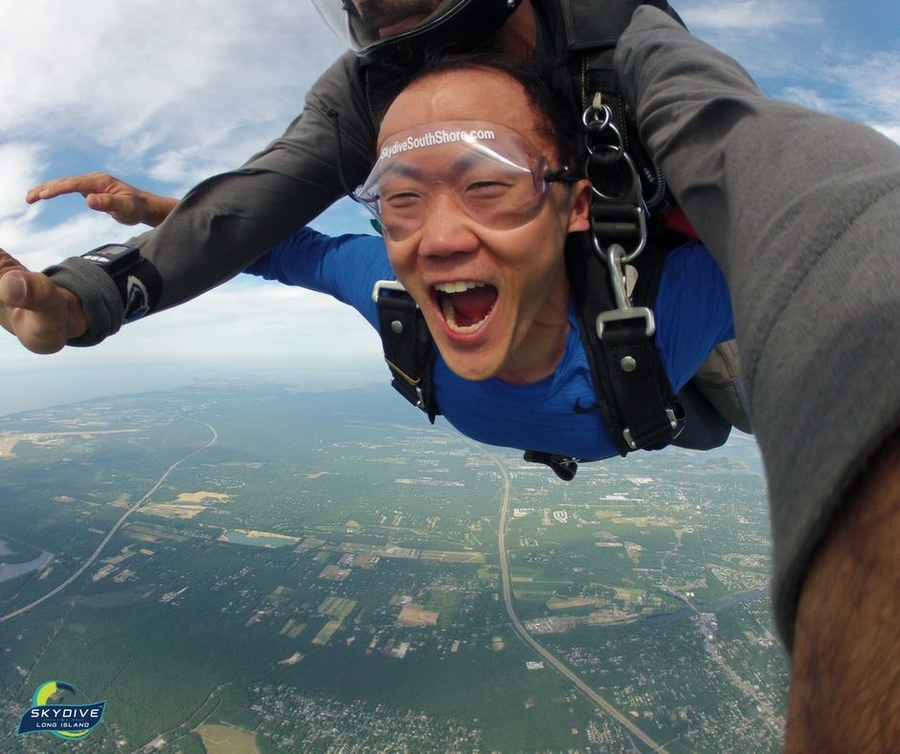 Tandem Skydiving? What To Expect