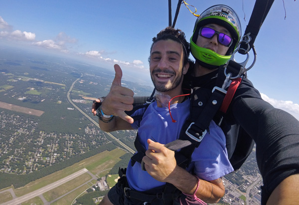 Summer Skydiving in New York